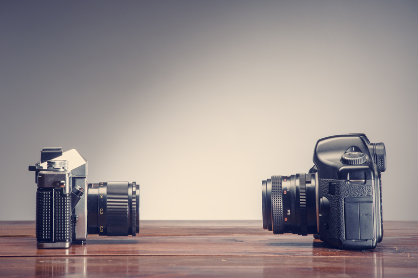 product research helped the evolution in camera technology