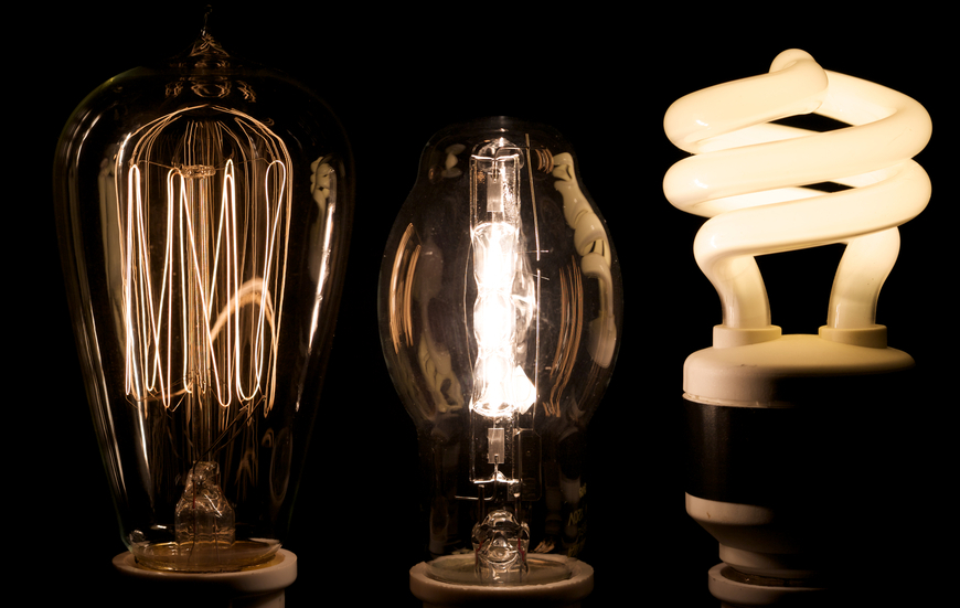 The evolution of lightbulbs is the result of new product development research