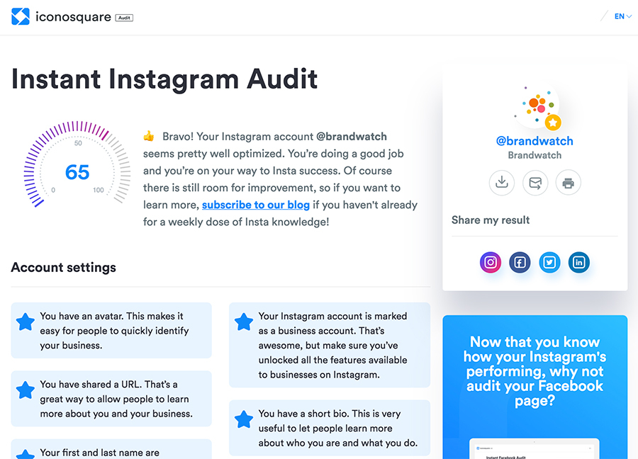 The Best Instagram Analytics Tools Brandwatch