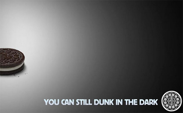 Oreo Super Bowl Tweet - Dunk in The Dark