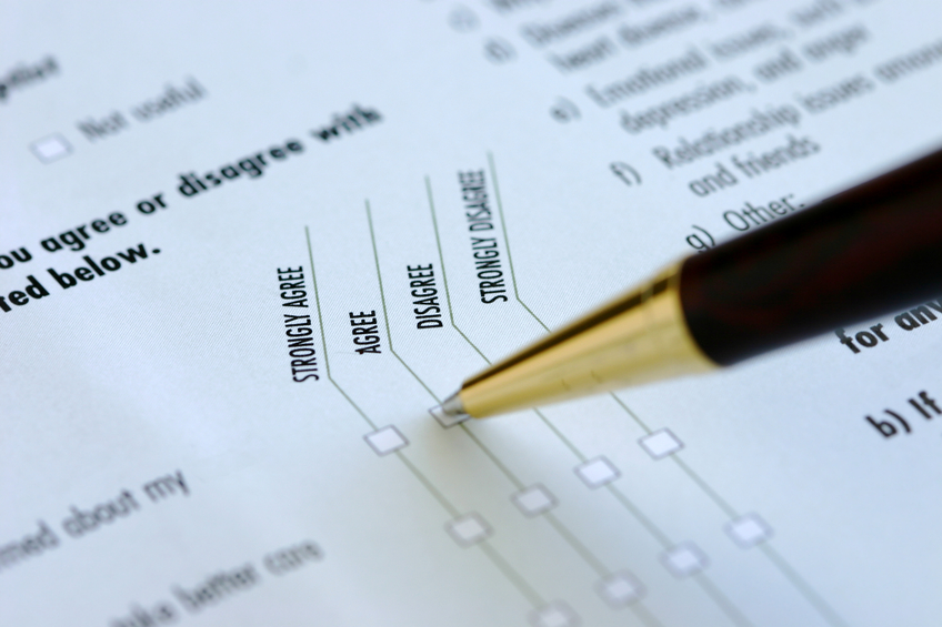 Surveys can be a good way of conducting brand research