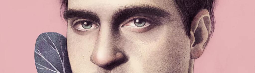 Joaquin Phoenix by Mercedes deBellard