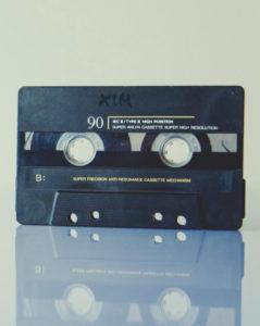 A tape casette