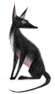 Wolf by Mercedes deBellard