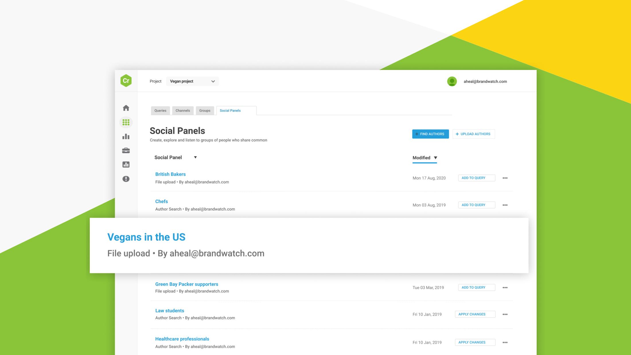 Introducing Social Panels: Understanding Your Consumers Just Got Simpler