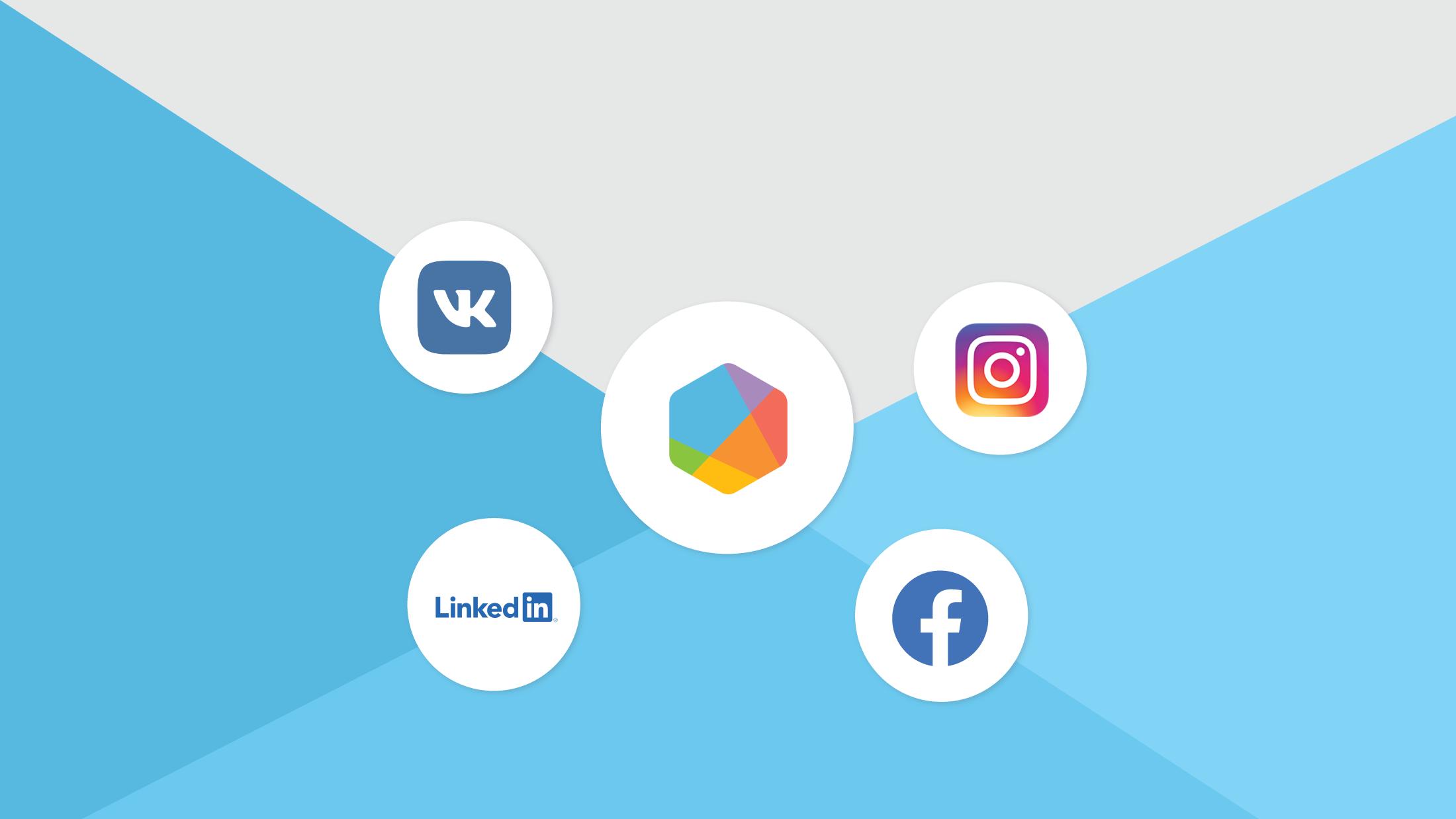 New Data Updates: Vkontakte, Facebook, Instagram, and LinkedIn
