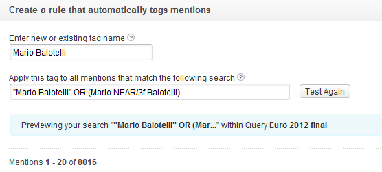 It turns out there are 8016 mentions about the famously naughty Italian  striker Mario Balotelli. This should be enough to make it one of the most  ...